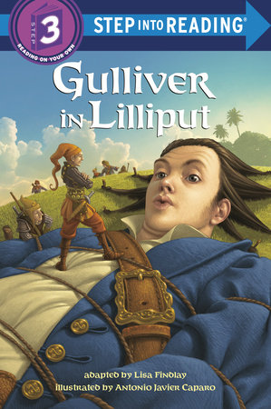 Gulliver in Lilliput by