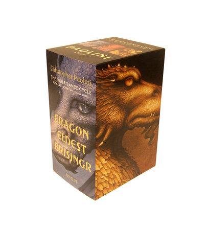 Inheritance Cycle 3-Book Trade Paperback Boxed Set (Eragon, Eldest, Brisingr) by