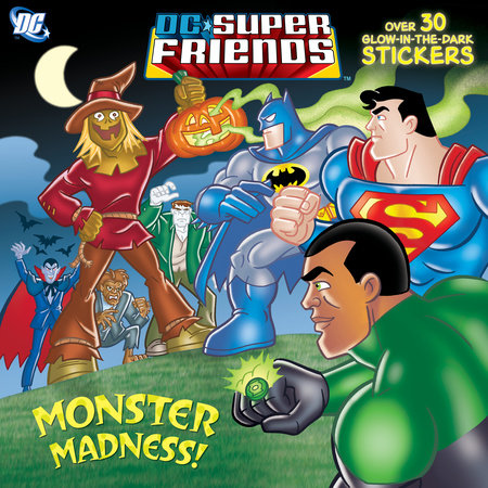 Monster Madness! (DC Super Friends) by