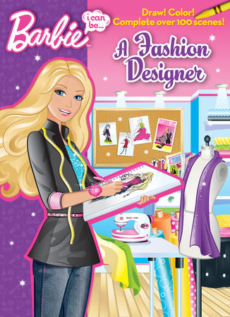 I Can be...A Fashion Designer (Barbie) by