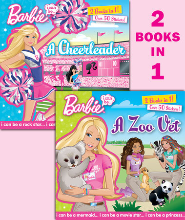I Can Be...A Zoo Vet/I Can Be...A Cheerleader (Barbie) by