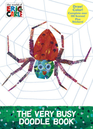 The Very Busy Doodle Book (The World of Eric Carle) by