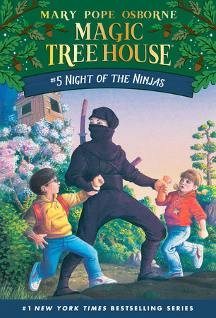 Magic Tree House #5: Night of the Ninjas by