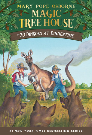 Magic Tree House #20: Dingoes at Dinnertime by Mary Pope Osborne