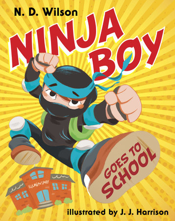 Ninja Boy Goes to School by