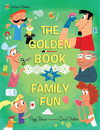 The Golden Book of Family Fun by Peggy Brown