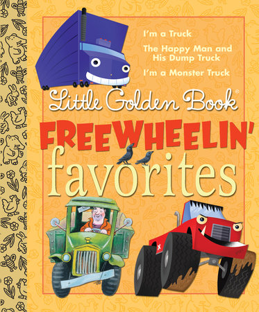 Little Golden Book Freewheelin Favorites by Dennis Shealy and Miryam
