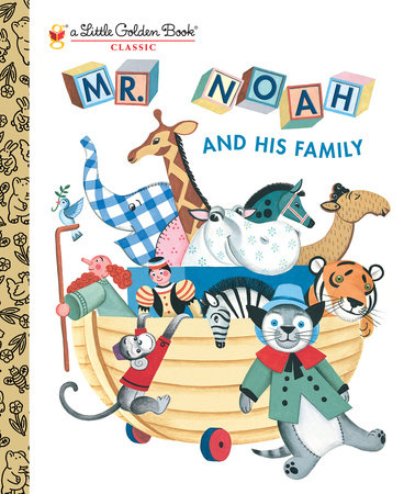 Mr. Noah and His Family by