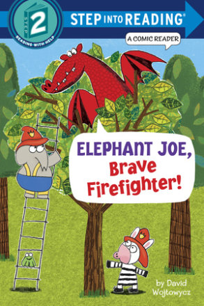 Elephant Joe, Brave Firefighter! (step Into Reading Comic Reader) (ebk)
