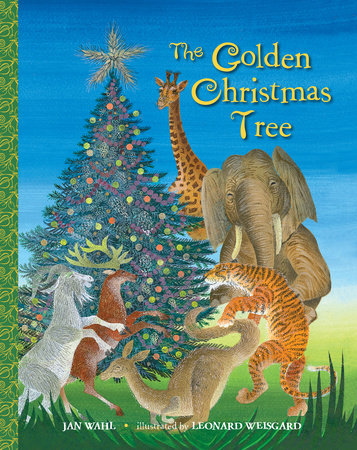 The Golden Christmas Tree by Jan Wahl