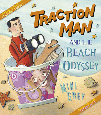 Traction Man and the Beach Odyssey by