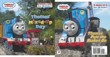 Thomas' Mixed-Up Day/Thomas Puts the Brakes On (Thomas & Friends) by Random House
