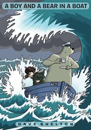 A Boy and A Bear in a Boat by