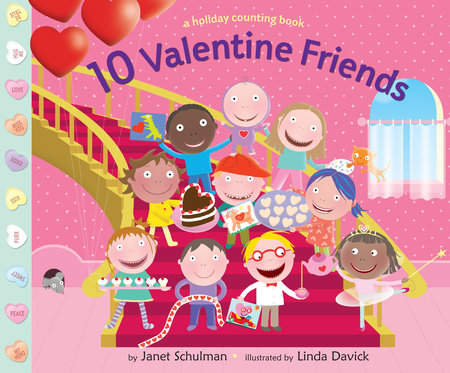10 Valentine Friends by