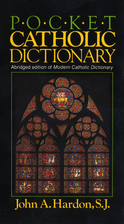 Pocket Catholic Dictionary by