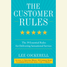 The Customer Rules Cover
