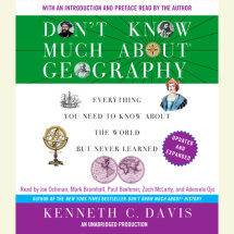 Don't Know Much About Geography: Revised and Updated Edition Cover