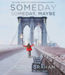 Someday, Someday, Maybe Cover