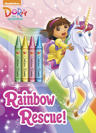 Rainbow Rescue! (Dora the Explorer) by Golden Books