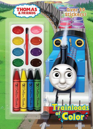 Trainloads of Color (Thomas & Friends) by
