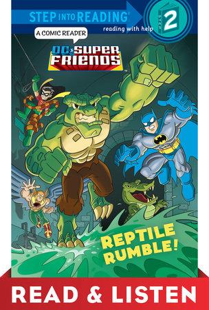 Reptile Rumble! (dc Super Friends) Read & Listen Edition (ebk)