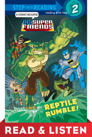Reptile Rumble! (dc Super Friends) Read & Listen Edition (ebk)
