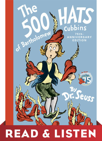 The 500 Hats of Bartholomew Cubbins: Read & Listen Edition by