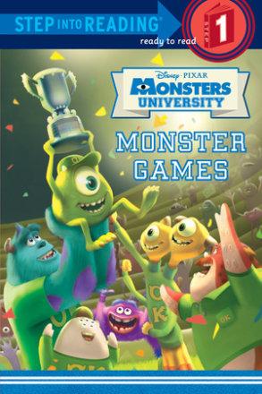 Monster Games (disney/pixar Monsters University) (ebk)