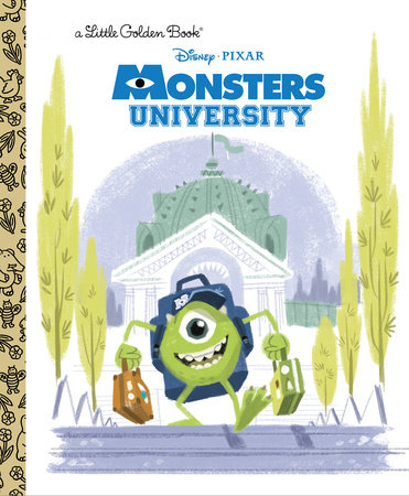Monsters University Little Golden Book (Disney/Pixar Monsters University)