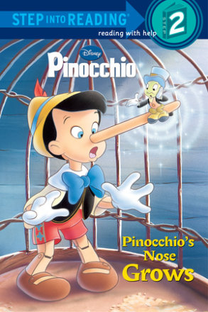 Pinocchio's Nose Grows (disney Pinocchio) (ebk)