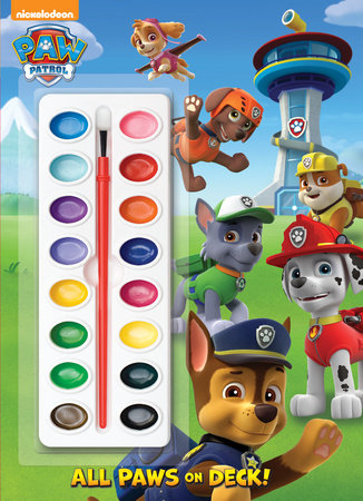 All Paws on Deck! (Paw Patrol) by Golden Books