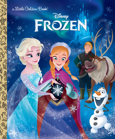 Frozen Little Golden Book (Disney Frozen) by Victoria Saxon