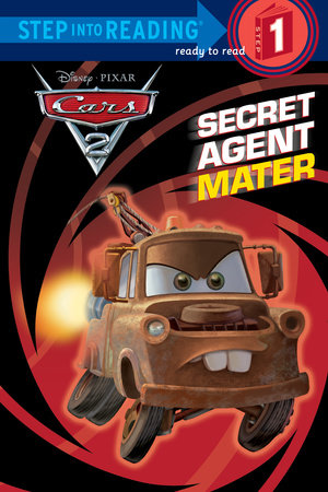 Secret Agent Mater (disney/pixar Cars 2) (ebk)