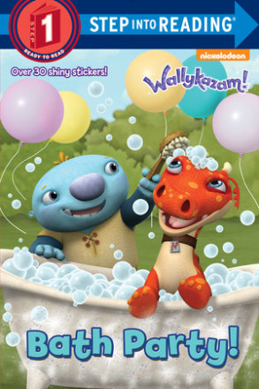 Bath Party! (wallykazam!)