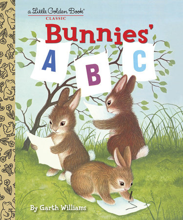 Bunnies' ABC by Golden Books