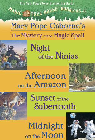 Magic Tree House: Books 5-8 Ebook Collection: Mystery of the Magic Spells by