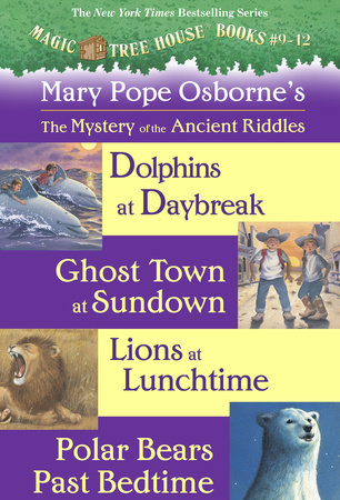 Magic Tree House: Books 9-12 Ebook Collection: Mystery of the Ancient Riddles by Mary Pope Osborne