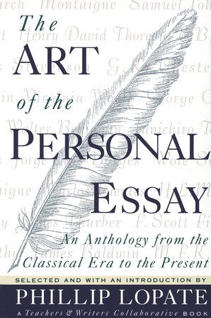 The Art of the Personal Essay by