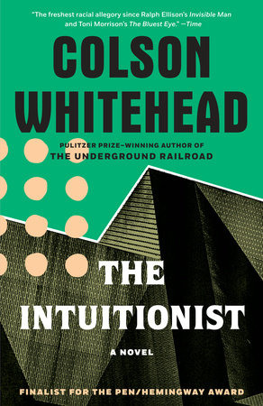 The Intuitionist book cover