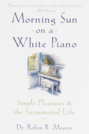 Morning Sun on a White Piano by