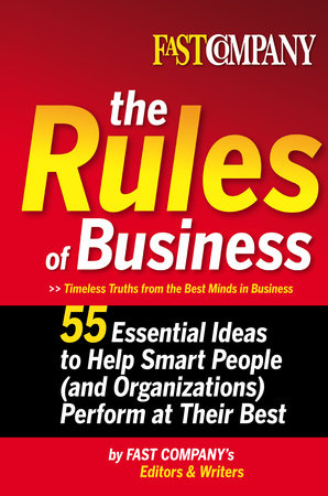 Fast Company The Rules of Business by