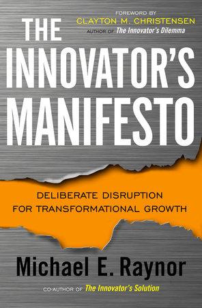 The Innovator's Manifesto by