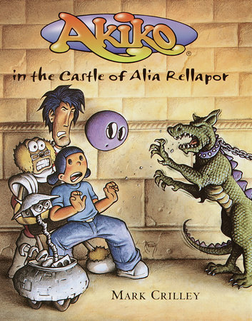 Akiko in the Castle of Alia Rellapor by