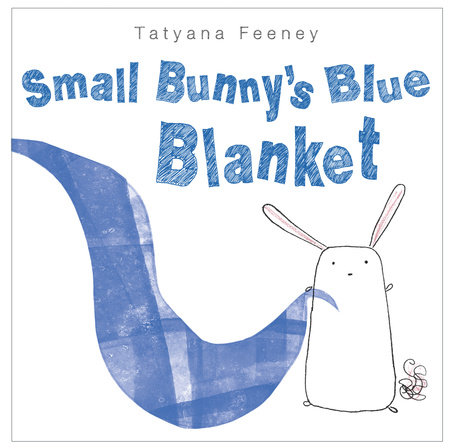 Small Bunny's Blue Blanket by
