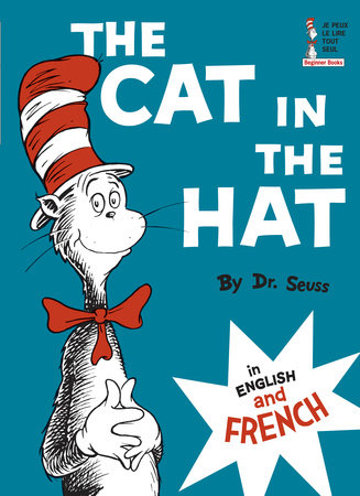 The Cat in the Hat in English and French by