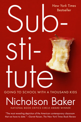 Substitute book cover