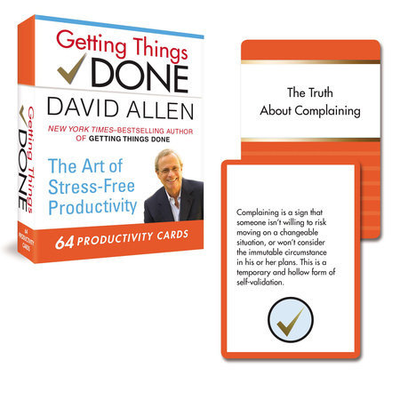 Getting Things Done Productivity Cards