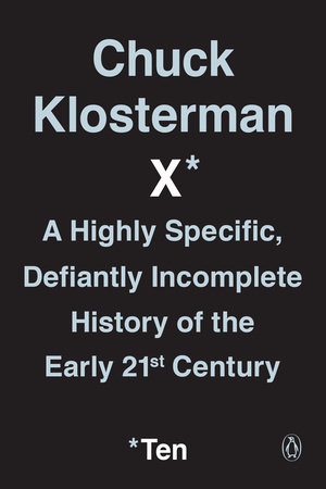 Chuck Klosterman X book cover