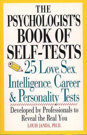 Psychologist's book of self-test