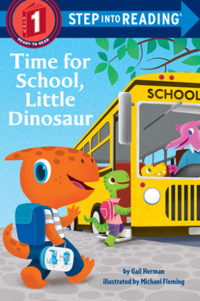 Time For School, Little Dinosaur